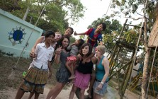 Volunteering in Cambodia, Feb 2011
