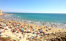 Cadiz beach, Spain