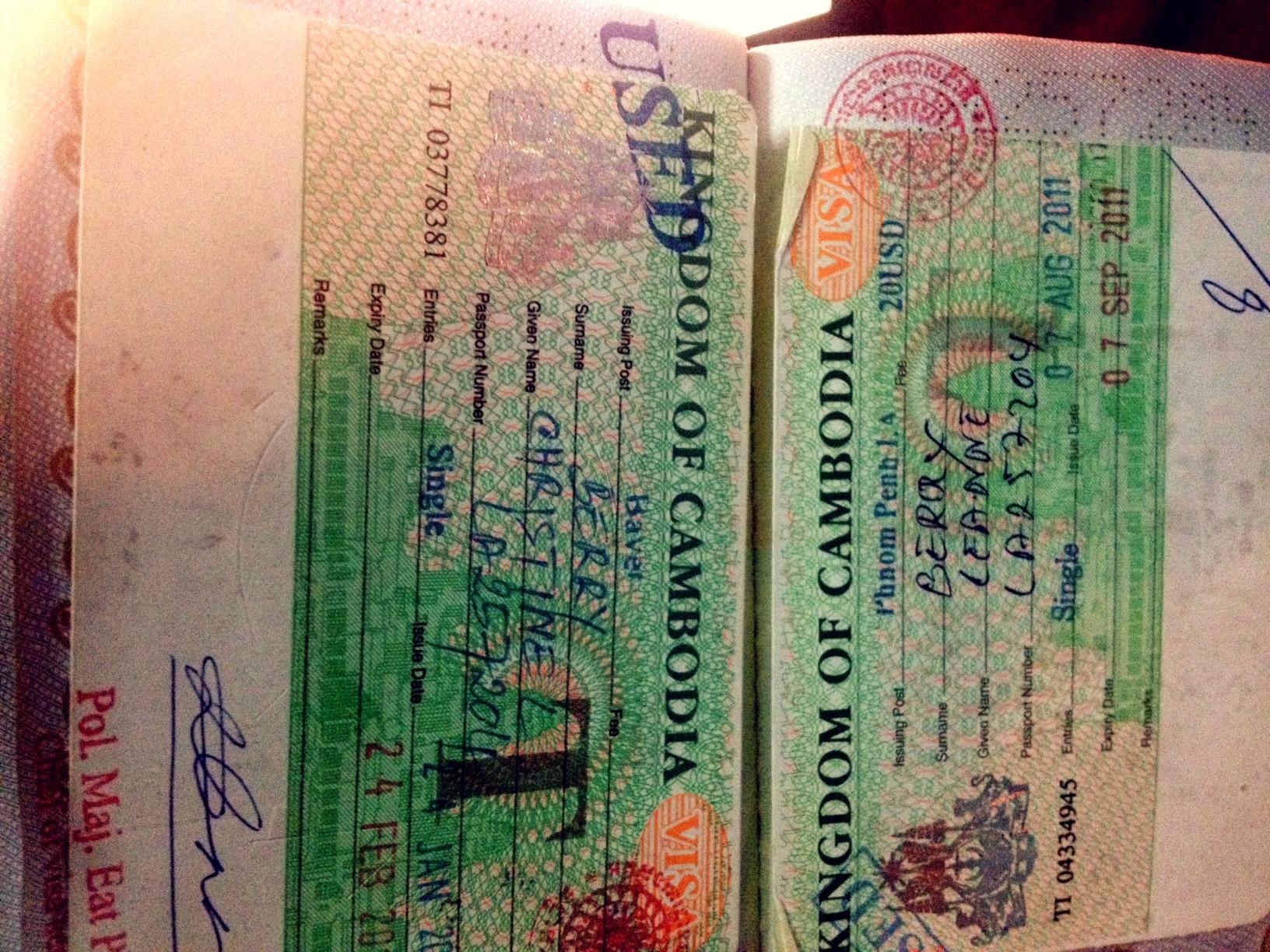 Cambodian Border Scams