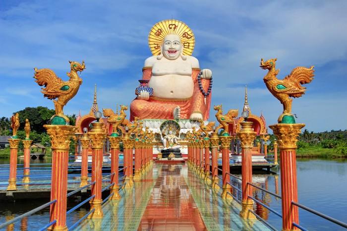 Buddha's Disney Land, Wat Plai Laem, Samui-L
