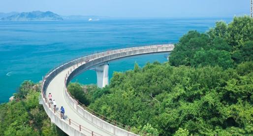 Cycling 160km Across 6 Islands in Japan