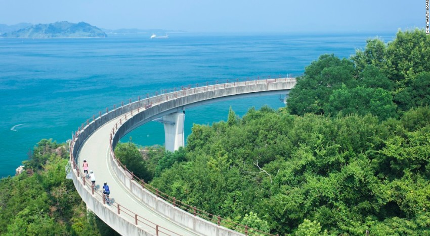 Cycling 160km Across 6 Islands in Japan